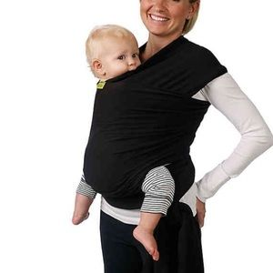 boba Wrap Baby Carrier in Black EUC Maternity